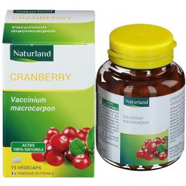 Naturland - Cranberry - 75 Végécaps Naturland