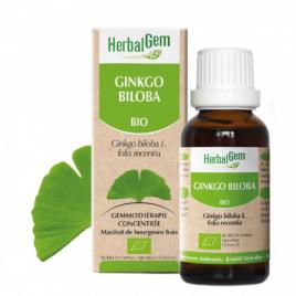 Herbalgem Ginkgo Biloba Flacon compte gouttes 50ml Onaturel