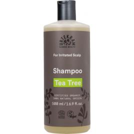 Urtekram Shampoing à l'HE d'Arbre à Thé antibactérien 500ml cuir chevelu irrité Onaturel