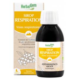 Sirop pour la Respiration bio 250 ml Herbalgem Onaturel