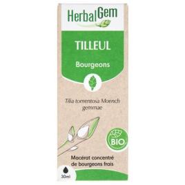 Herbalgem Tilleul bio Flacon compte gouttes 50ml sérénité sommeil Onaturel