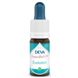 Deva Laboratoire Composé Floral Bio Evolution No 14 10ml vaincre les difficultés Onaturel