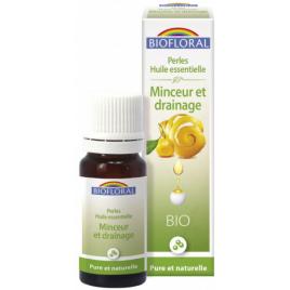 Biofloral perles d'huiles essentielles complexe minceur et drainage 20 ml Onaturel