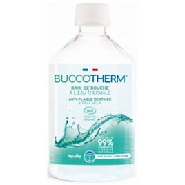 Bain de bouche menthe naturelle à l'eau thermale 300ml Buccotherm Onaturel