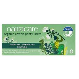 Natracare 22 Protèges slip incurvé en coton bio Natracare