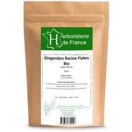 Herboristerie de France Tisane Gingembre racine BIO 30 gr Herboristerie de France