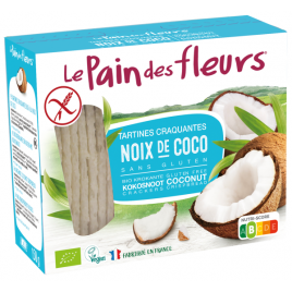 Le Pain Des Fleurs Tartines craquantes à la noix de Coco 150g Le Pain Des Fleurs