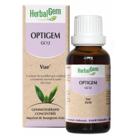 Herbalgem Optigem Flacon compte gouttes 50ml Onaturel