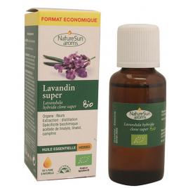 NatureSun'arôms huile essentielle de Lavandin Super bio Flacon compte gouttes 30ml