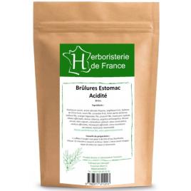 Herboristerie de France Tisane Brûlure d'estomac Acidité 30gr Herboristerie de France