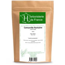 Herboristerie de France Tisane Camomille Romaine capitule floral trié entier 30gr Herboristerie de France