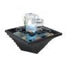 Zen Arôme Fontaine d'intérieur en verre et céramique Himalaya Onaturel espace de vie