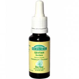 Biofloral Elixir Gentian n° 12 Gentiane 20ml Biofloral Elixirs floraux - Dr Bach Onaturel.fr