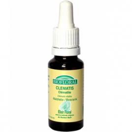 Biofloral Elixir Clematis n° 9 Clématite 20ml Biofloral Elixirs floraux - Dr Bach Onaturel.fr