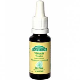 Biofloral Elixir Vervain n° 31 Verveine 20ml Biofloral Elixirs floraux - Dr Bach Onaturel.fr