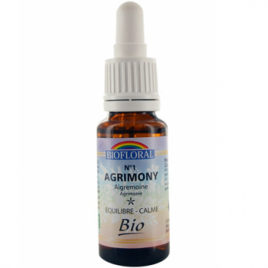 Biofloral Elixir Agrimony n° 1 Aigremoine 20ml Biofloral Compléments Alimentaires Bio Onaturel.fr