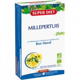 Super Diet Millepertuis Bio 20 Ampoules buvable de 15ml Super Diet Categorie temp Onaturel.fr
