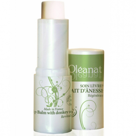 Oleanat Baume à lèvres au lait d'ânesse régénérant 4.5g Oleanat Categorie temp Onaturel.fr