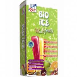 Bio Ice 10 sucettes de glace multifruits parfums exotiques 10x40ml Bio Ice Goûter / Confiserie Onaturel.fr