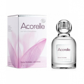 Acorelle Eau de parfum Divine Orchidée 50ml Acorelle Eaux de toilette Onaturel.fr