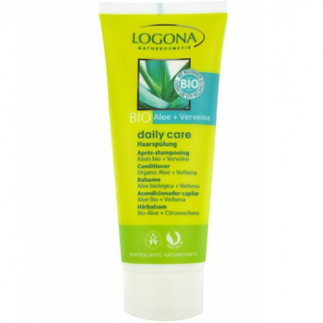 Logona Daily Care Après Shampoing Aloès et Verveine 100ml