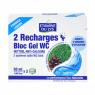 Etamine du Lys Recharge Bloc gel WC au Pin et à l'Eucalyptus 2X50ml Etamine du Lys WC-Désodorisants Bio Onaturel.fr