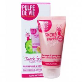 Pulpe De Vie Sucré frappé duo masque/gommage Concombre Pamplemousse Abricot 75ml