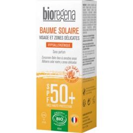 Bioregena Crème solaire SPF50 Peaux claires Visage 40ml Bioregena Protection solaire Bio Onaturel.fr