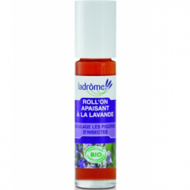 Ladrome Roll on Apaisant Lavande soulage les piqûres d'insectes 10ml Ladrome Aromathérapie Bio Onaturel.fr