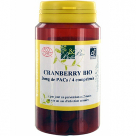 Belle et Bio Cranberry bio 120 comprimés 60g Belle et Bio Compléments Alimentaires Bio Onaturel.fr