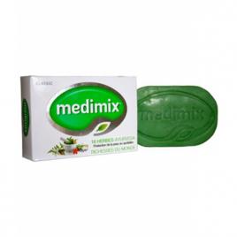 Savon Medimix Ayurvédique 18 plantes 125g Medimix Cholayil Hygiène Onaturel.fr
