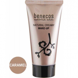 Benecos Fond de teint crème Caramel 30ml Benecos Teint bio Onaturel.fr