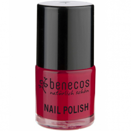 Benecos Vernis à ongles Vintage Red/ Rouge Tendance 9ml Benecos Vernis à ongles bio Onaturel.fr