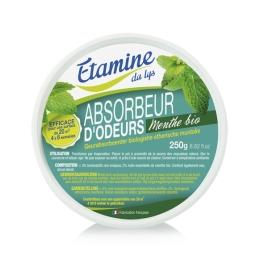 Etamine du Lys Absorbeur d'odeurs à l'huile essentielle de menthe bio 250g