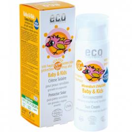 Eco Cosmetics Crème solaire babysun LSF/SPF50+ Grenade et Argousier 50ml Eco Cosmetics Accueil Onaturel.fr