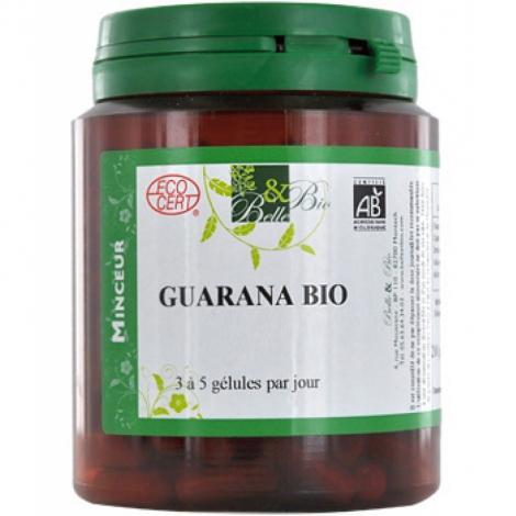 Belle et Bio Guarana 200 gélules 65.5g Belle et Bio Compléments Alimentaires Bio Onaturel.fr