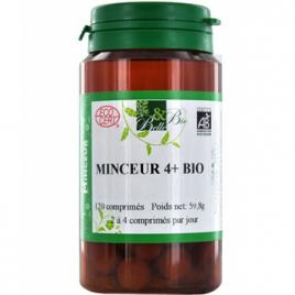 Belle et Bio Minceur 4 plus bio 120 comprimés 59.8g Belle et Bio Minceur Onaturel.fr