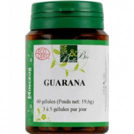 Belle et Bio Guarana 60 gélules 19.6g Belle et Bio Compléments Alimentaires Bio Onaturel.fr