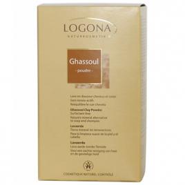Logona Ghassoul poudre boite carton 1kg