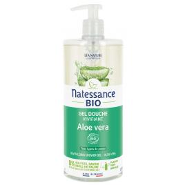 Natessance Gel douche Aloe véra revitalisant Sans Sulfates 1l Natessance Hygiène Onaturel.fr