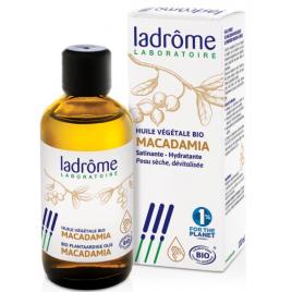 Ladrome Huile végétale de Macadamia satinante et hydratante 100ml