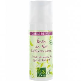 Belle et Bio Crème de nuit raffermissante à l'huile de Figue de Barbarie 50ml Belle et Bio Soins de nuit Bio Onaturel.fr