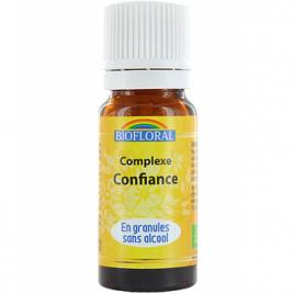 Biofloral Complexe floral n°6 Confiance en granules sans alcool 10g Biofloral Elixirs floraux - Dr Bach Onaturel.fr