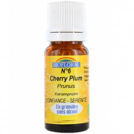 Biofloral Elixir Prunus n°6 Cherry Plum en granules 10g Biofloral Elixirs floraux - Dr Bach Onaturel.fr