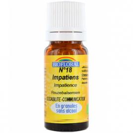 Biofloral Elixir Impatiens n°18 Impatience en granules 10g Biofloral