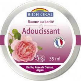 Biofloral Baume précieux adoucissant au Karité et Rose de Damas 35ml Biofloral Soins hydratants Bio Onaturel.fr