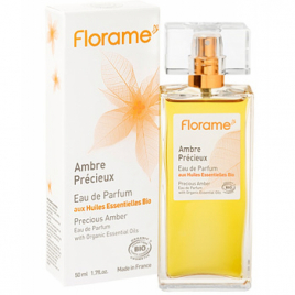 Florame Eau de Parfum Ambre Précieux 50ml Florame Soins du corps Bio Onaturel.fr