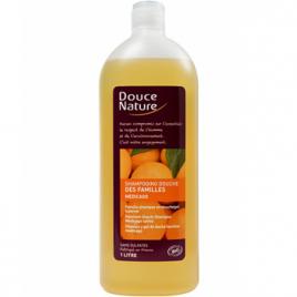 Douce Nature Shampooing douche des familles Médicago sans sulfates 1L