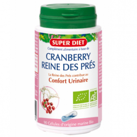 Super Diet Cranberry bio reine des prés 90 gélules Super Diet Confort Urinaire Onaturel.fr
