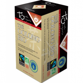 Touch Organic Thé Oolong BIO 24 sachets 48g Touch Organic Accueil Onaturel.fr
